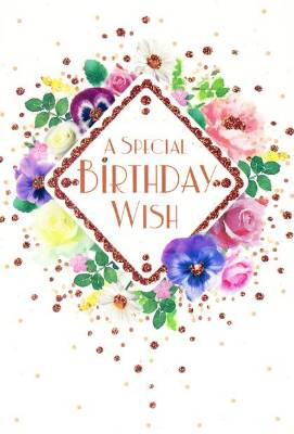 Special Birthday Wish Card