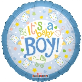 New baby boy balloon
